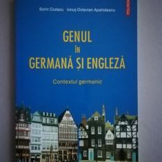 Genul in germana si engleza