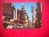 HOPCT 66817  CHINATOWN-ORASUL CHINEZESC-SAN FRANCISCO-AUTOMOBIL-SUA -NECIRCULATA