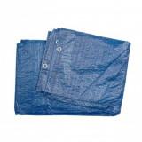 Prelata 4 x 6 m, 57 g/m2, albastra, material PP+PE, Vorel