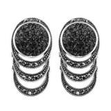 Cumpara ieftin Cercei Antique Silver Fashion 21B21C242