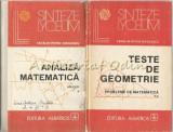 Cumpara ieftin Analiza Matematica. Aplicatii I, II - Catalin-Petru Nicolescu