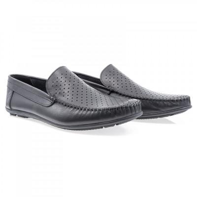 Pantofi barbati Caspian din piele naturala Cas-660-N-LAZ foto