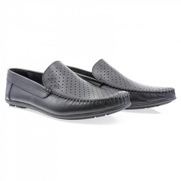 Pantofi barbati Caspian din piele naturala Cas-660-N-LAZ