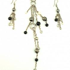 MONTBLANC - spectaculos set/ bijuterii (colier și cercei)