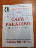 Program teatrul de revista constantin tanase martie 2001-radu gheorghe