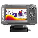 Sonar Lowrance Hook2-4X cu Bullet Transducer si GPS Plotter
