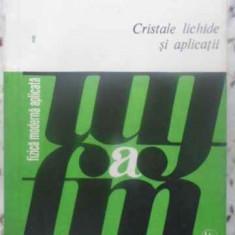 CRISTALE LICHIDE SI APLICATII - ION MUSCUTARIU