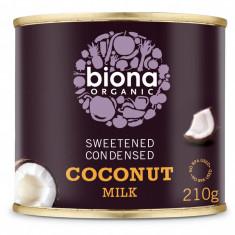 Lapte de cocos condensat bio 210g