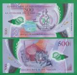 = VANUATU - 500 VATU - 2017 PPOLYMER - UNC    =