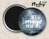 Insigne magnetice personalizate 58mm