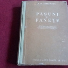 A M DMITRIEV - PASUNI SI FANETE 1953