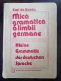 MICA GRAMATICA A LIMBII GERMANE - Emilia Savin