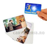 Carduri PVC printabile inkjet fata-verso albe, set 20 bucati, ProCart