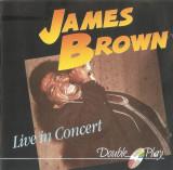 CD James Brown – Live In Concert, original