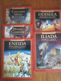 Odiseea + Iliada + Eneida + alte 2 carti din colectie  / C66P