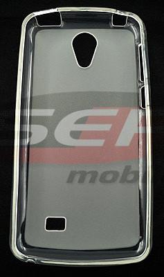 Toc plastic siliconat HTC Desire 530 TRANSPARENT foto