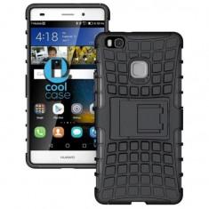 Husa Huawei P9 Lite 2016Armor KickStand Black, Negru