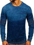Hanorac bărbați albastru Bolf KK1029
