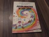 JOCURI DIDACTICE IN AER LIBER-NICOLAI BRADATAN EDITURA DIDACTICA 1980