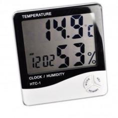 Ceas digital cu senzor de umiditate termometru si alarma HTC Mania