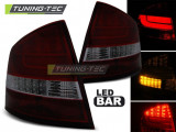 Stopuri LED compatibile cu Skoda OCTAVIA II SEDAN 04-12 Rosu Fumuriu LED BAR