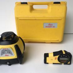 Nivela Laser Rotativa Leica Rugby 50