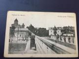 Valeni de Munte Prahova 1924 Podul peste Valeanca, Circulata, Fotografie