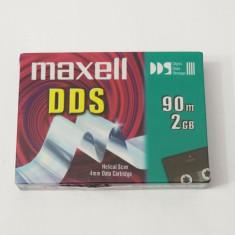 Caseta date data cartridge 4 mm Maxell DDS 90 m 2 Gb - sigilate
