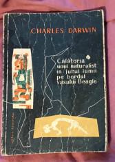 Charles Darwin CALATORIA UNUI NATURALIST IN JURUL LUMII LA BORDUL VASULUI BEAGLE foto