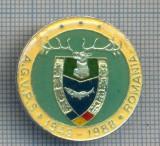 AX 135 INSIGNA VANATOARE SI PESCUIT SPORTIV PERIOADA RSR -A.G.V.P.S -1948-1988