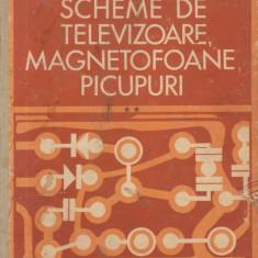 Scheme de televizoare, magnetofoane, picupuri, Volumul al II-lea - Scheme de magnetofoane si picupuri