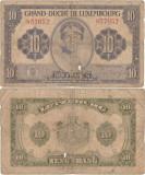 1944, 10 francs (P-44) - Luxemburg!