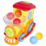 Locomotiva cu sunete si lumini Hola Toys, Multicolor