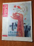 revista femeia iulie 1965-art. si foto orasul codlea,braila,retete culinare,moda