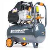 Compresor de Aer cu Ulei Powermat, 24L, 2.5CP, 8 Bar, 206L/min