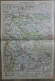 Chisinau-Orhei-Husi// harta lito 1928, M. D. Moldoveanu