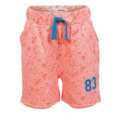Pantaloni scurti Minoti fete burn-out design corai