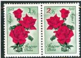 Ungaria, flora, flori, trandafiri, MNH