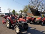 Tractor YANMAR US 301 + Freza + Incărcător frontal + Cupa