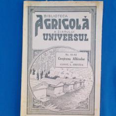 CONST. L. HRISTEA - CRESTEREA ALBINELOR , CU 28 FIGURI IN TEXT , 1945