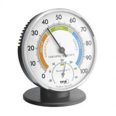 Termometru si Higrometru Clasic de Precizie, TFA
