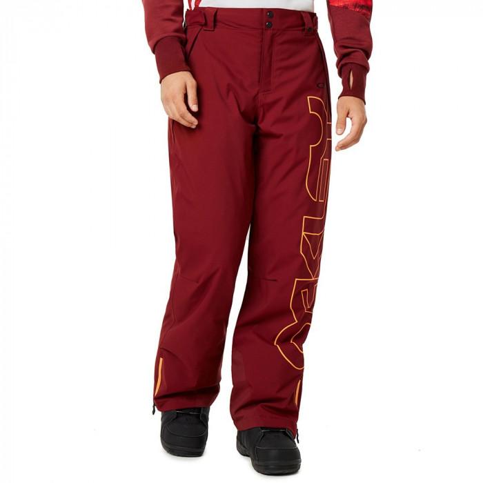 Pantaloni Oakley Cedar Ridge Insulated 10K/2L Oxblood Red
