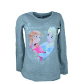 Bluza cu maneca lunga pentru fete Frozen Sun City 823-065-134, Gri, Milusie