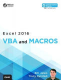 Excel 2016 VBA and Macros
