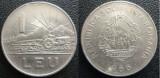 Moneda 1 leu 1966