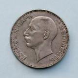 BULGARIA  -  100 Leva 1937  -  Boris III  -  Argint 20 g