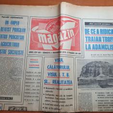 magazin 5 decembrie 1970-monumentul de la adamclisi,articol despre ITB (RATB)