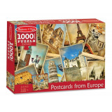 Puzzle vederi din Europa Melissa and Doug, 1000 piese, 12 ani+, Melissa & Doug
