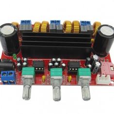 Kit amplificator clasa D 2x50W+100W TPA3116D2