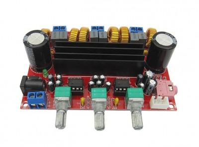 Kit amplificator clasa D 2x50W+100W TPA3116D2 foto